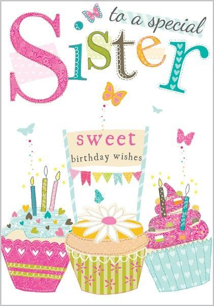 imagenes de happy birthday sister 25 best ideas about sister birthday greetings on