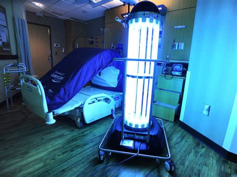 uv light in hospitals trolines less impact similar pay off study calorie