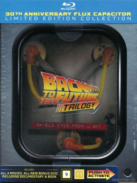 back to the future flux capacitor edition back to the future trilogy flux capacitor limited
