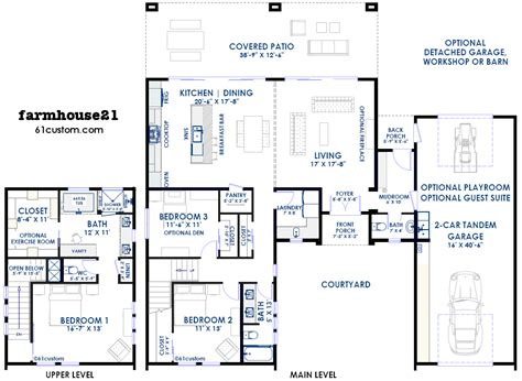 contemporary farmhouse floor plans 16 contemporary farmhouse floor plans ideas architecture