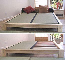 making a wooden headboard platform beds low platform beds japanese solid wood bed