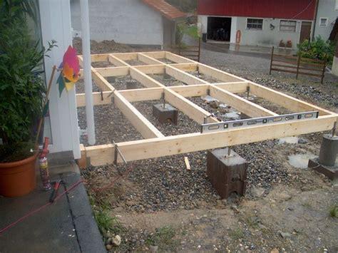 holzveranda kosten terrasse unterkonstruktion abstand weihnachtsgeschenke