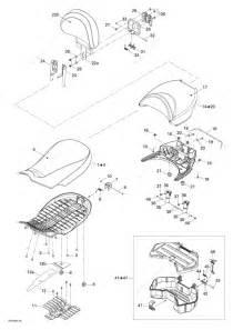 Bombardier 2008 Outlander Max 400 Xt Seat Parts Catalog