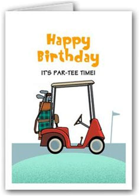 printable birthday cards golf theme 1000 images about golf birthday cards on pinterest golf