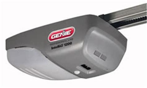 Genie 1000 Garage Door Opener Manual by Genie Intellig 1000 3 4 Hp Dc Motor Chain Or Belt Drive