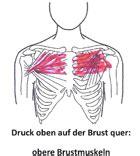 innere unruhe druck auf der brust verschiedene arten druck auf der brust