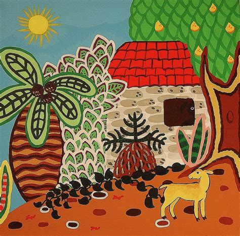jamaican house painter jamaican house ii painting by wendy bridges