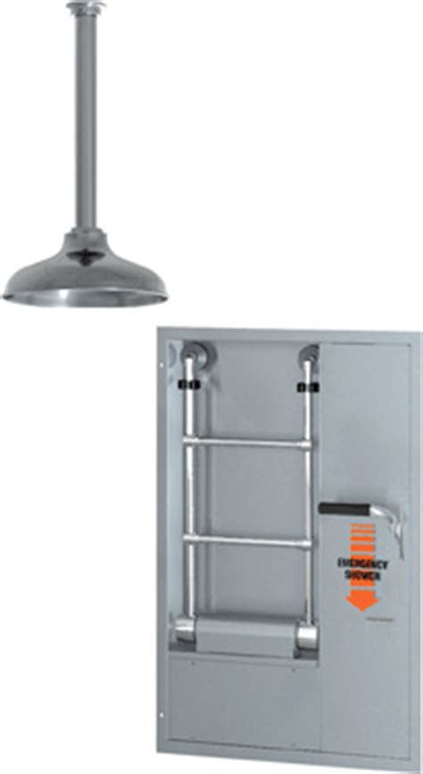 Guardian Safety Shower by Guardian Safety Gbf 2100 Recessed Barrier Free Safety