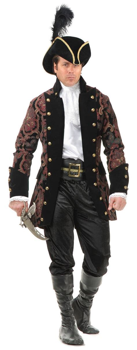 mens royal pirate rogue costume mens pirate costumes