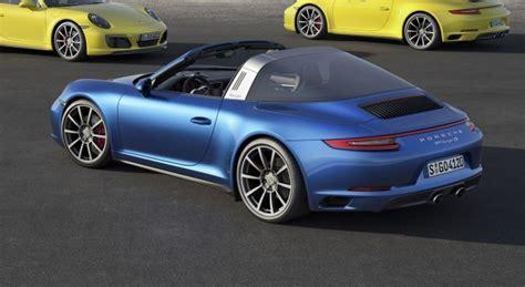 Porsche Carrera Targa by 2017 Porsche 911 Carrera 4 And Targa 4 Models Make Debut