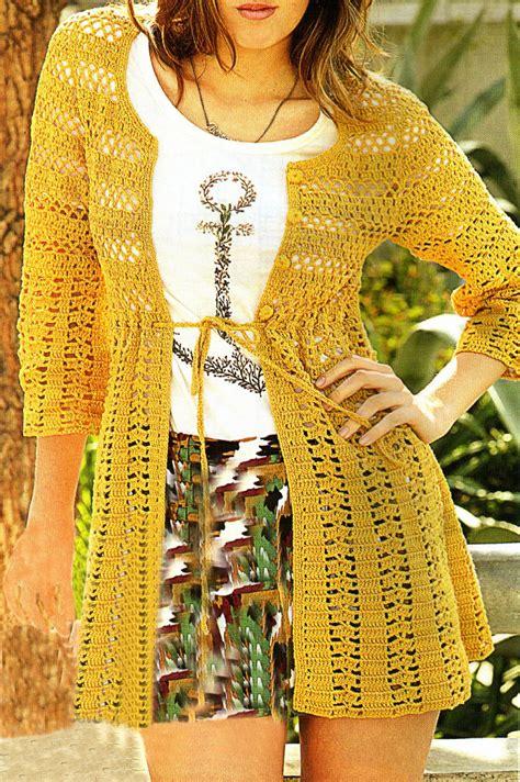 artesanales en crochet saco tejido en crochet con un bonito detalle tejidos artesanales en crochet saco tejido en crochet con
