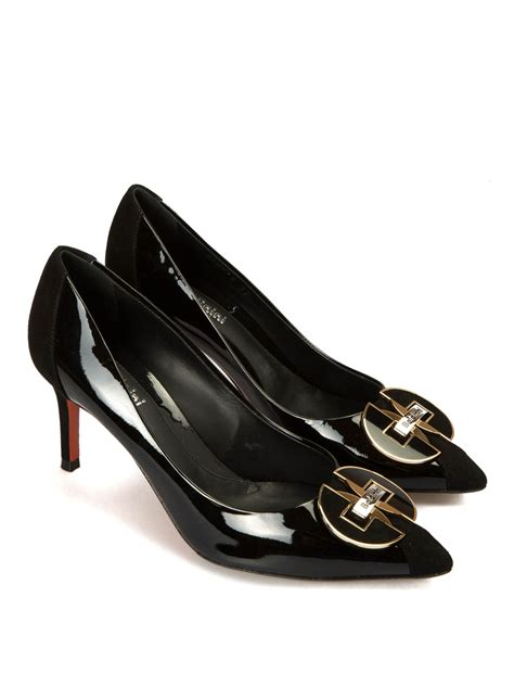 Patent Pointy Pumps baldinini patent leather pointy pumps court shoes