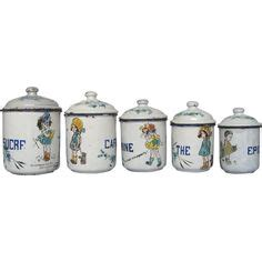 reserved for diane french kitchen canisters set french decor reserved for kmdavid french enamel kitchen canisters