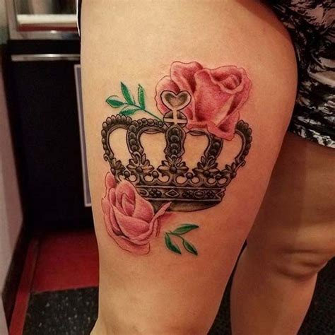 crown with roses tattoo 23 creative crown ideas for stayglam