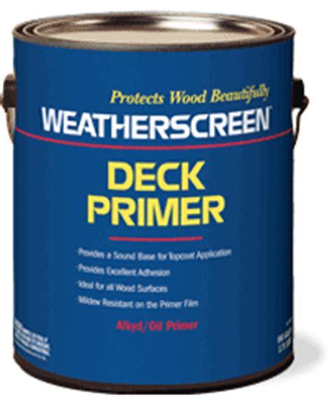 weatherscreen exterior deck primer