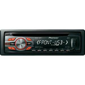 new pioneer car stereo pioneer deh1400ub car stereo from conrad