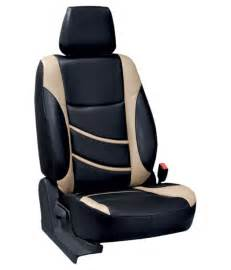 Car Seat Covers For Seats Elaxa Car Seat Covers For Maruti Sx4 Black Buy Elaxa Car