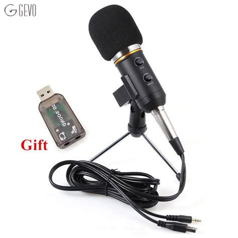 Speaker Fleco F K39 Wired Mic With Usb Tf Card Pla Limited mk f200fl professional handheld condenser microphone usb computer microphone stand tripod wired