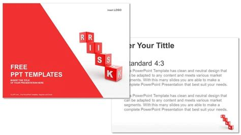 ppt templates for risk risk blocks finance ppt templates