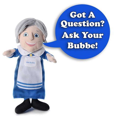 """Ask Bubbe"", Talking Grandma With Yiddish Answers"