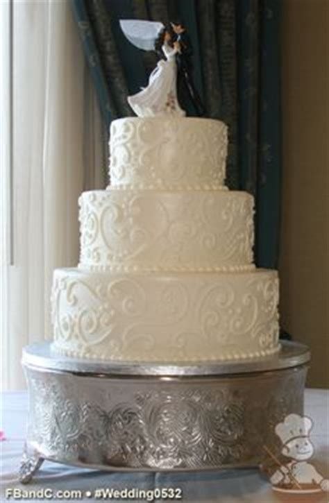 Wedding Cake Size For 125 Guests