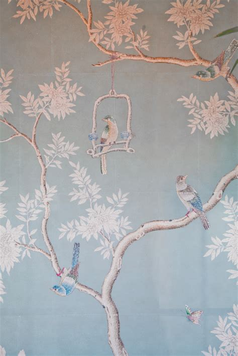 scheune mieten flensburg chinoserie wallpaper peonies and orange blossoms