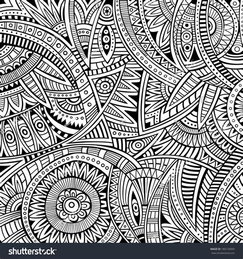 tribal ethnic pattern abstract vector tribal ethnic background seamless stock