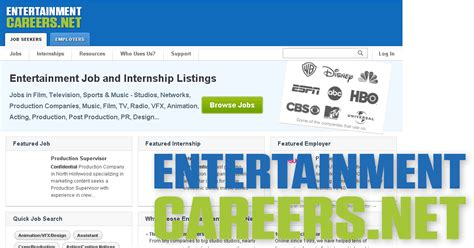 Mba Internships Entertainment Industry by Entertainment And Internships Entertainmentcareers