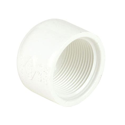 cap pvc pipe fittings pipes fittings the home depot