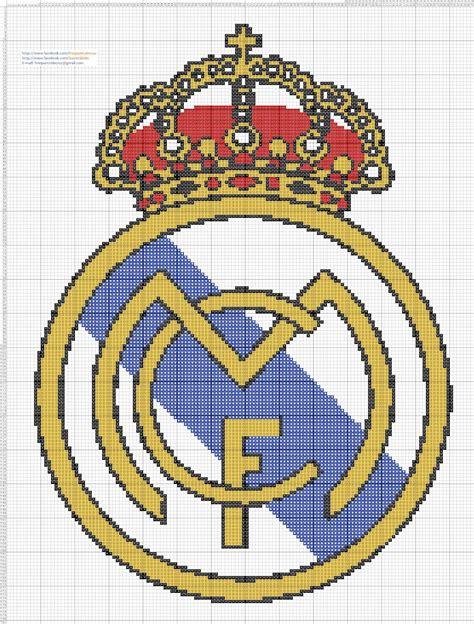 imagen en punto en cruz el escudo de emelec dibujos punto de cruz gratis escudo real madrid punto de cruz