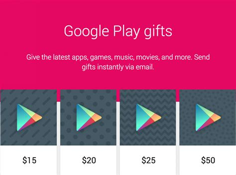 Google Play Gift Card Deal - giveaway 250 in google play gift cards up for grabs updated winners chosen