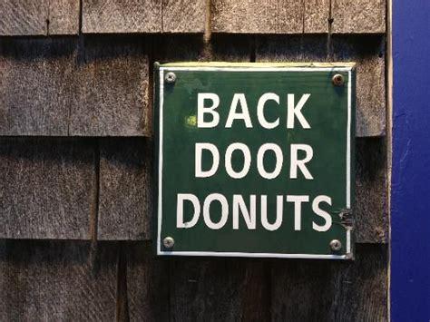 Back Door Donuts Oak Bluffs by Back Door Donuts Oak Bluffs Marthas Vineyard