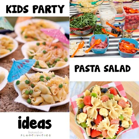 cold salad ideas pasta salads your will not stop playtivities