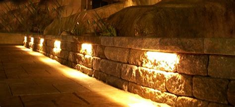 12V LED Deck Lights, LED Hardscape Lights for Retaining