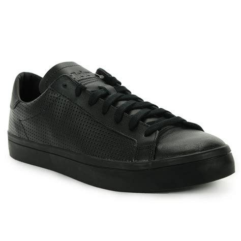 adidas mens courtvantage shoes  blackblack  wooki