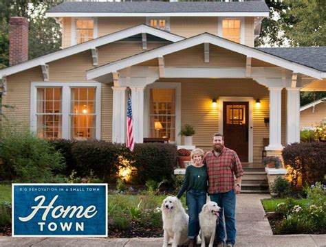 what it was like to the pilot for quot home town quot on hgtv