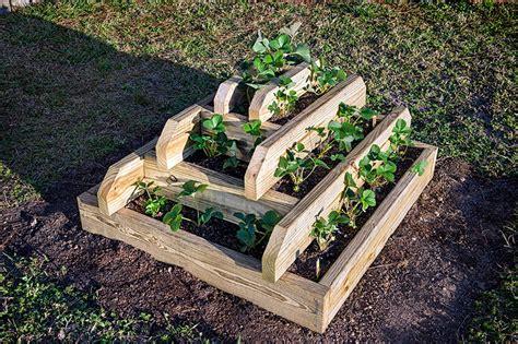 Pyramid Strawberry Planter by Strawberry Pyramid Planter Plans