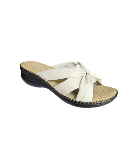 white low heel sandals spiffy white low heel daily wear sandals price in india