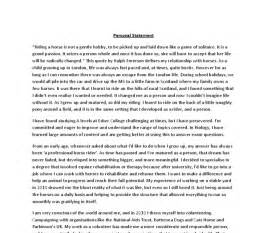 Media personal statement template best template collection