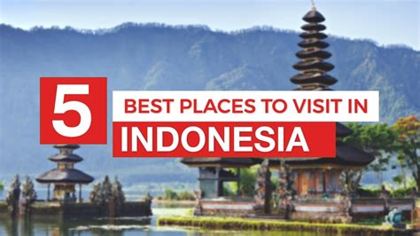 places  visit  indonesia travel guide youtube