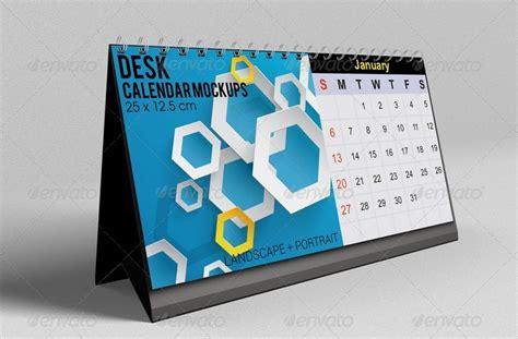 Kalender Meja 2017 Kartun Desk Calendar Creative Hka001 Desk Calendar Mockups By Kongkow Graphicriver