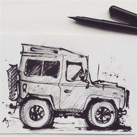 land rover drawing 330 best images about defender drawing on