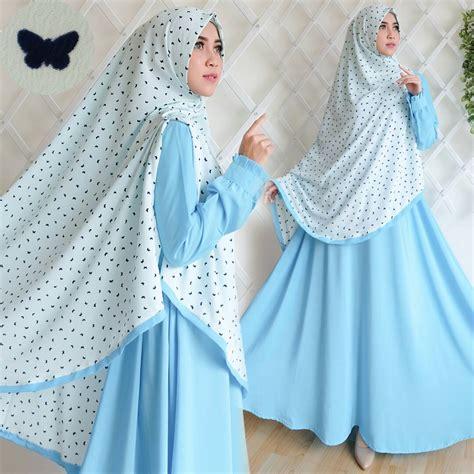 Khimar Syari Butterfly baju gamis anak nemo