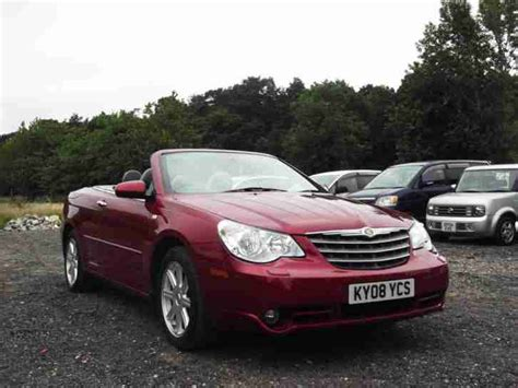 how it works cars 2008 chrysler sebring electronic toll collection chrysler 2008 sebring 2 7 cabrio v6 automatic limited convertible px
