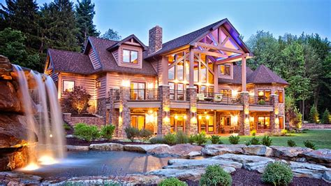 luxury log cabin homes log cabin luxury mansions log cabin mansions floor plans