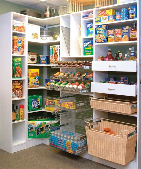 kitchen closet design ideas fresh kitchen corner walk in pantry 15681