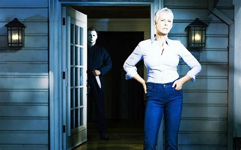 jamie lee curtis in new halloween movie jamie lee curtis reprises famous horror role in 2018 s