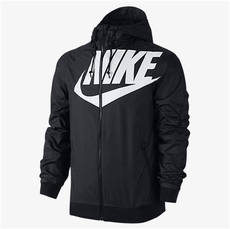 Jaket Nike Black Logo nike sportswear big logo windrunner jacket sportfits