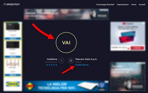 test della connessione test velocit 192 connessione mobile adsl e fibra