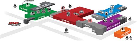 sema show floor plan 2016 sema show floor plan